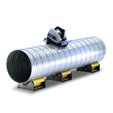 Sisteme portabile pentru debitarea tubulaturii de ventilație