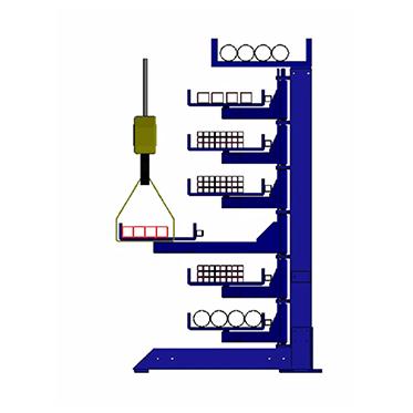 Rack-uri pt. țevi și profile